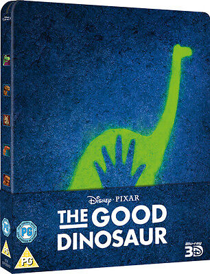 The Good Dinosaur - Limited Edition Steelbook (Blu-ray 2D/3D) BRAND NEW!! DINSEY