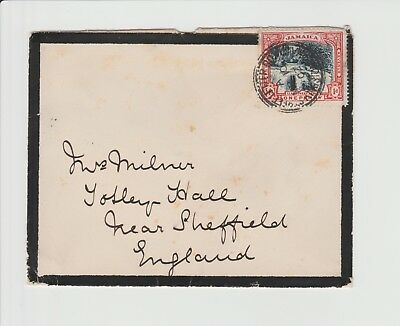 Jamaica Double Ring Kingston Street Letter Postmarked cover March 10th 1902
