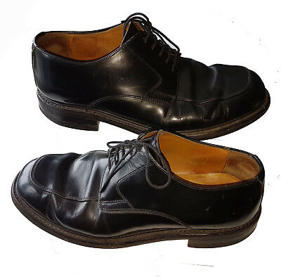 Loake Shoemakers Men's 1333B Boxer Black Lace Up Oxford Shoes Uk Size 9.5