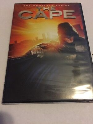 The Cape: The Complete Series (DVD, 2011, 2-Disc Set) NEW