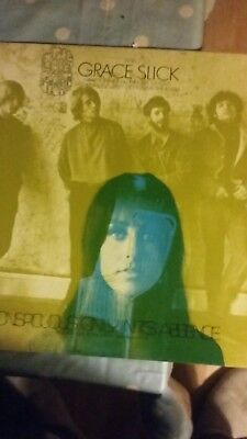 The Great Society With Grace Slick Conspicuous Only In It's Absence Lp