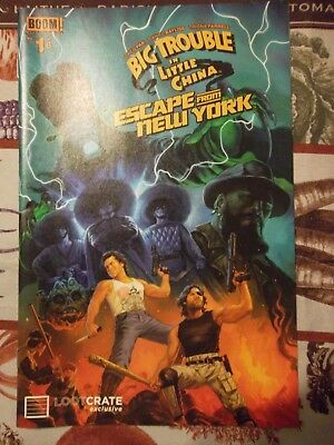 Big Trouble In Little China and Escape From New York Comic issue #1 out of 6
