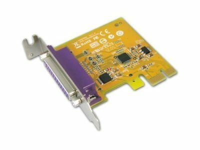 Card SUNIX Port Parallel IEEE1284 LPT DB-25 PCI-E Low Profile PAR6408A