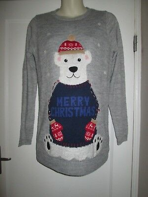 Pretty Size 8 Next Christmas Maternity Jumper Fab With Leggings See Pics!!