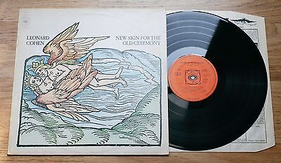 LEONARD COHEN New Skin For The Old Ceremony LP EX++/EX 1st UK 1974 CBS A2/B1