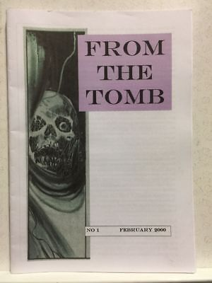From The Tomb # 1 Horror Comics Fanzine Free Postage