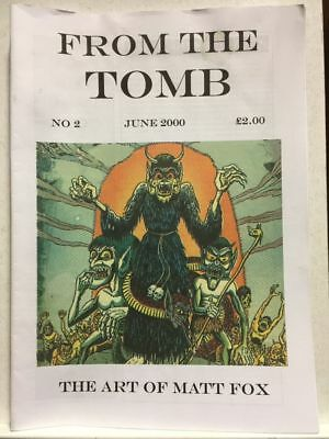From The Tomb # 2 Horror Comics Fanzine Free Postage
