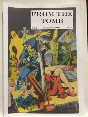 From The Tomb # 3 Horror Comics Fanzine Free Postage
