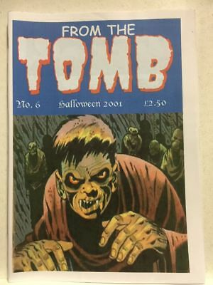 From The Tomb # 6 Horror Comics Fanzine Free Postage