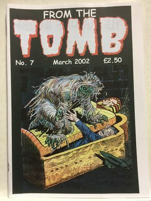 From The Tomb # 7 Horror Comics Fanzine Free Postage