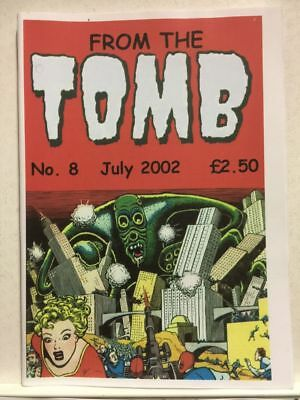 From The Tomb # 8 Horror Comics Fanzine Free Postage