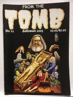 From The Tomb # 11 Horror Comics Fanzine Free Postage