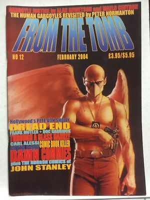 From The Tomb # 12 Horror Comics Fanzine Free Postage