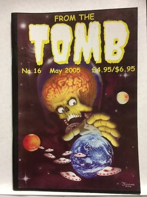 From The Tomb # 16 Horror Comics Fanzine Free Postage