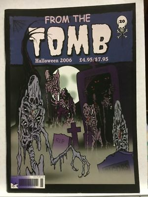 From The Tomb # 20 Horror Comics Fanzine Free Postage