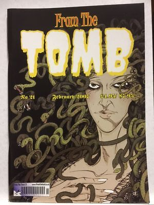 From The Tomb # 21 Horror Comics Fanzine Free Postage