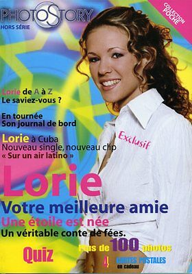 Magazine PHOTO STORY n°1H spécial LORIE, 4 cartes postales, 102 pages, NEUF