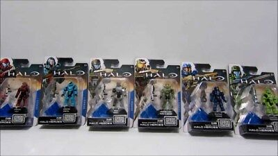 HALO Mega Bloks HALO Heroes -master chief collection - Series 1 - NEW & Sealed