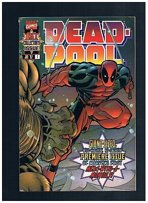 MARVEL Deadpool #1 1st Solo SERIES 1997JOE KELLY Ed McGuinness FREE BAG+BOARD