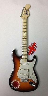 Baby Axe Red Hot Chili Peppers Guitar Miniature Instrument 25 cm Boxed Gift