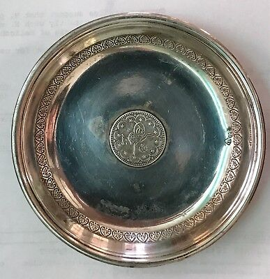 Vintage Turkish Coin Dish/Bowl with Turga