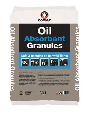 Oil Absorbent Spill Granules - 30 Litres