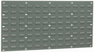 Louvre Wall Panel - Grey - 96 Louvres - 438 x 914mm