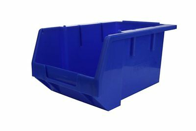 Stack & Nest Storage Bins - Blue - H 130mm x L 250mm x W 179mm - Pack of 10