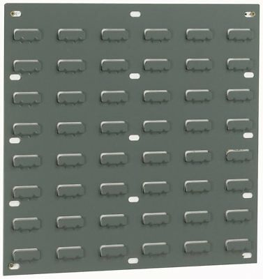 Louvre Wall Panel - Grey - 48 Louvres - 438 x 457mm