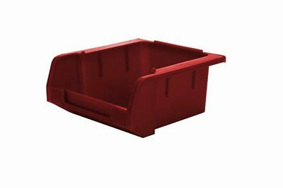 Stack & Nest Storage Bins - Red - H 50mm x L 103mm x W 100mm - Pack of 20