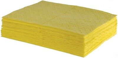 Absorbent Chemical Pads - 50cm x 40cm - Pack of 100