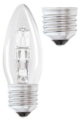 Halogen Edison Screw Cap Candle Bulb - 42W (55W) - Pack of 12