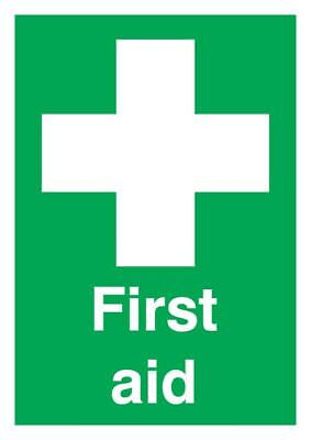 First Aid Sign - Rigid Polypropylene - 297mm x 210mm