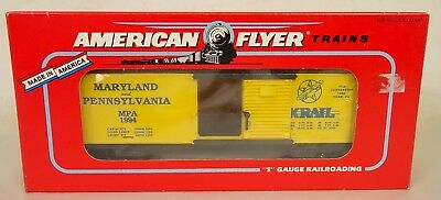 American Flyer #6-48487 Tca 1994 Convention Maryland & Pa. Box Car-New In Box!