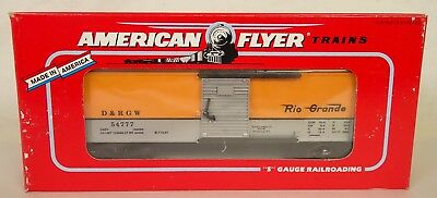 American Flyer #6-48204 Tca 1997 Convention Rio Grande Box Car-New In Box!