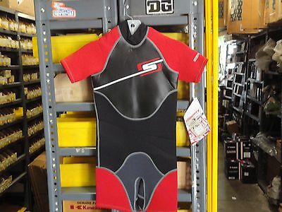Slippery When Wet Youth Small  Spring Suit OnePiece Red