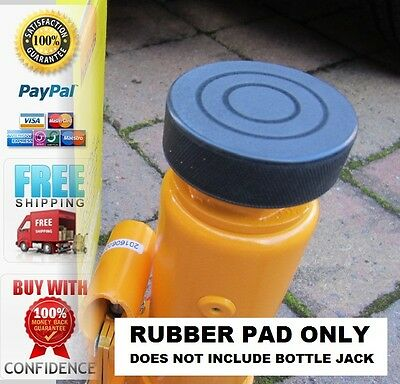 Bottle Jack Protection Pad Heavy Duty Rubber Pad 25mm dia recess on bottom
