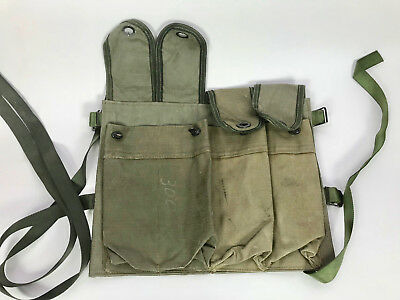 Very Rare South African Special  Forces Recce Patt 80- Rpk/ Mortar Chest Webbing