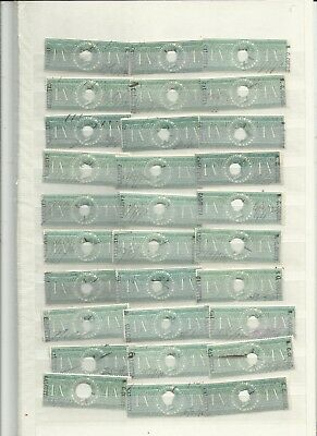 India QV revenue stamps duplication