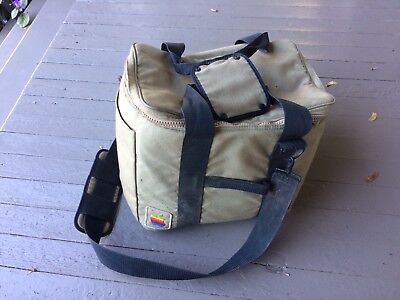 Vintage Apple Macintosh classic SE carry case airline bag original mac