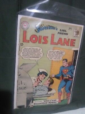 Superman's Girlfriend Lois Lane #43 aug 1963 DC comics