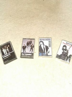 4 The  Pretenders Cassettes Rock-Used Quanity 1