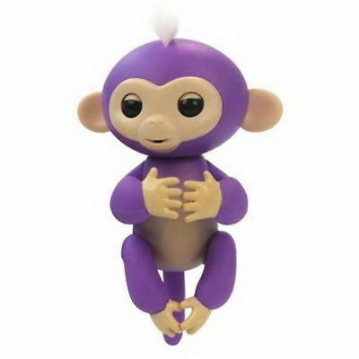 Interactive BABY MONKEY - ( Purple With White Hair )