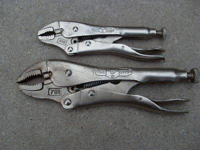 Two  Petersen Vise Grip Pliers 5WR and  7WR