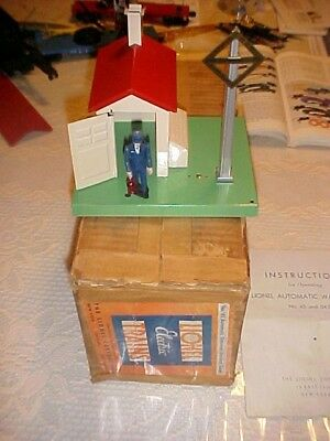 Lionel pre war standard gauge  45 gateman original box and instructions