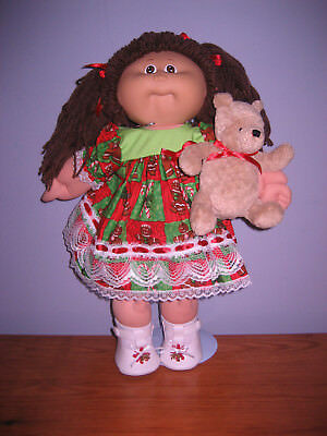 CABBAGE PATCH KID DOLL----Christmas Teddy