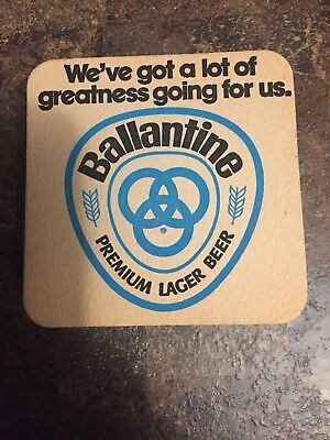 15 Ballantine Cold Brewed / For the Ale Man  Beer Coasters