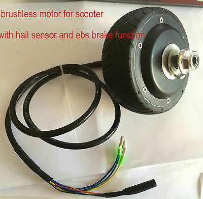4inches BLDC hub motor with tyre hall sensor& EABS enable for electric scooter