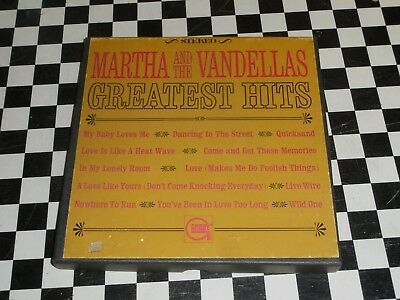 Reel-To-Reel    MARTHA & The VANDELLAS ~ Greatest Hits GORDY  917 STEREO