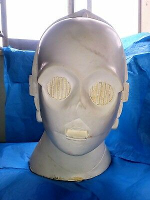 Don Post 20th Century Fox Vintage Star Wars Prototype Mask C3P-0